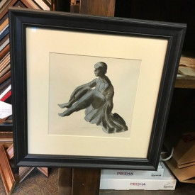 Seated woman study – original work