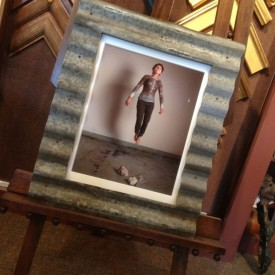 Corrugated frame